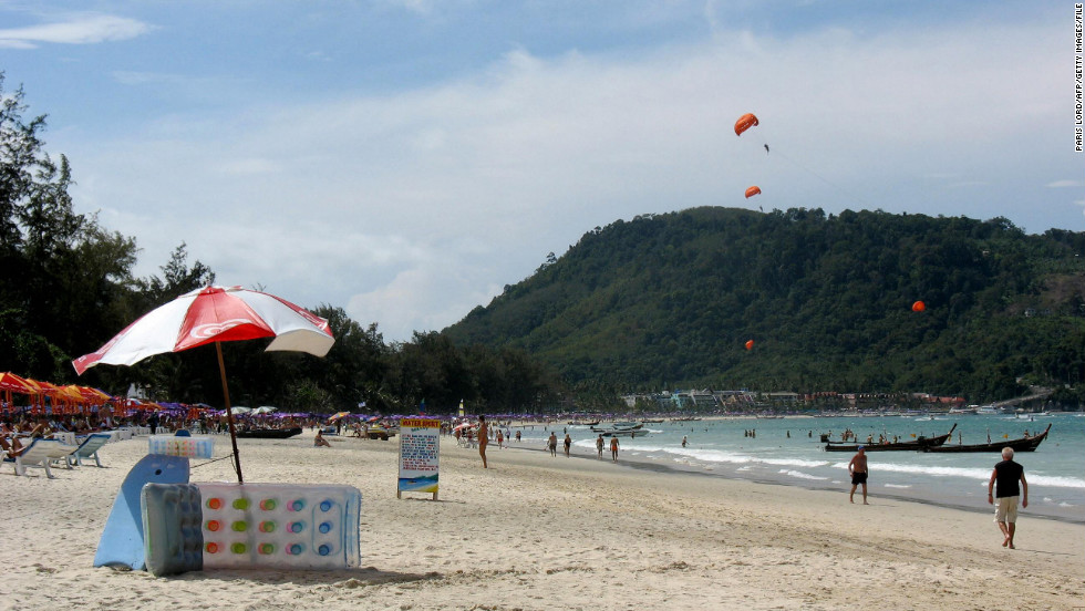 Monsoons don't start until May so slather on the sunscreen and get comfortable on one of the many beautiful beaches in Phuket.