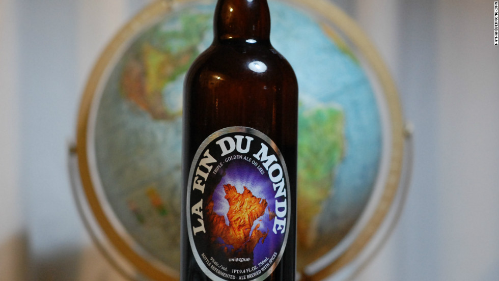 """La Fin du Monde,"" from Quebec's Unibroue brewery."