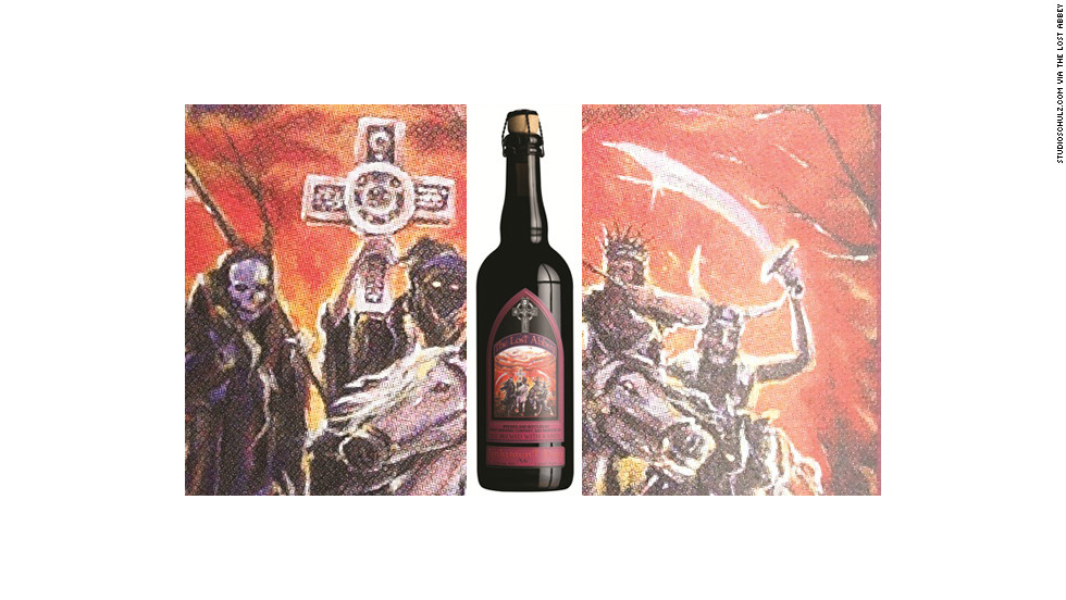 """Judgment Day,"" from the Lost Abbey line of beers from Port Brewing Co. of San Marcos, California."