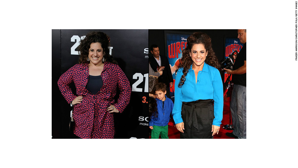 "There's no way Winokur could play ""Hairspray's"" zaftig Tracy Turnblad these days. The Tony-award winning actress has dropped 60 pounds this year. And she isn't the only star who changed in 2012."