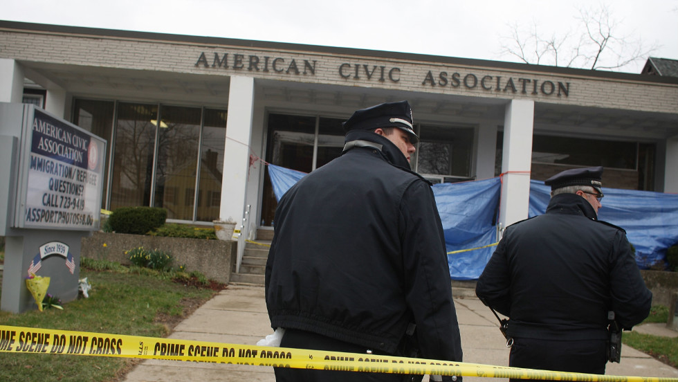 Jiverly Antares Wong walked into an American Civic Association center, gunning down 14 people and wounding four.