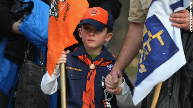 A mourner at the funeral for Benjamin Wheeler, 6, who was among those killed at Sandy Hook Elementary School last Friday.
