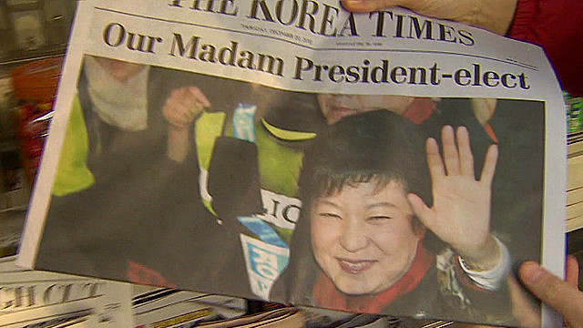 S. Korea president-elect talks N. Korea