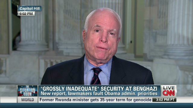 McCain: 'So many questions' on Benghazi