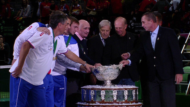 Davis Cup inspires Czech Republic