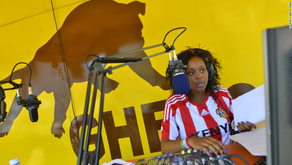 Nairobi-based Ghetto Radio DJs Mbusii, Solloo and Essie (pictured) are going six days without food to advocate for peaceful elections in Kenya.