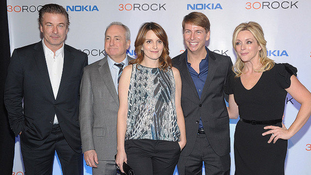 "Cast members say goodbye to ""30 Rock"""