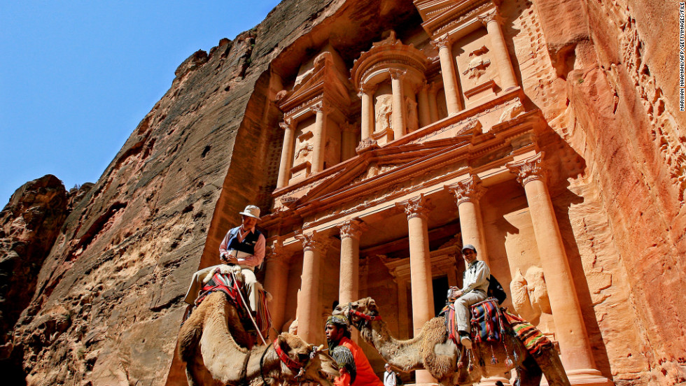 CNN Senior International Correspondent Nic Robertson has deep ties to Jordan and would like to take his daughters to see Petra and other historic sights.