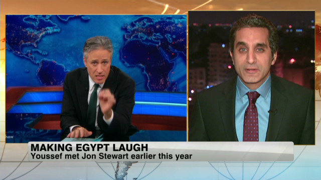 Man brings political satire to Egypt TV