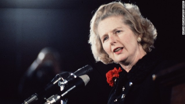 Invite list for Thatcher's funeral