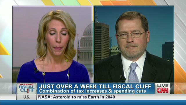Norquist: 'Obama wants to go over cliff'