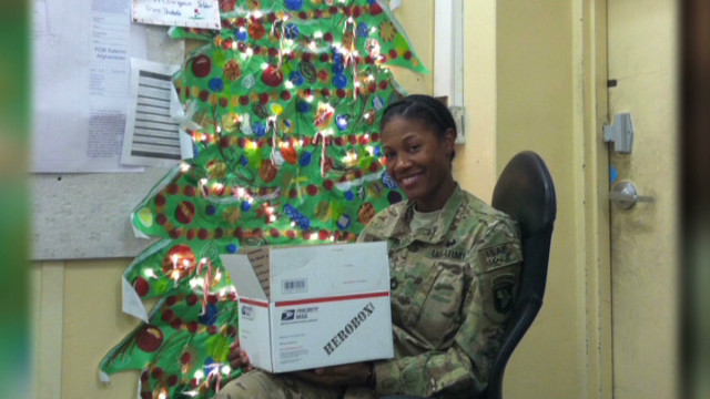 Troops get piece of home for holidays