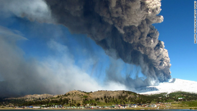 Copahue volcano spews ashes in Caviahue, Argentina on Saturday, December 22.