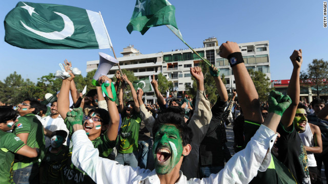 Pakistan's cricketers brought joy to their supporters by defeating India in the Twenty20 game in Bangalore, India.