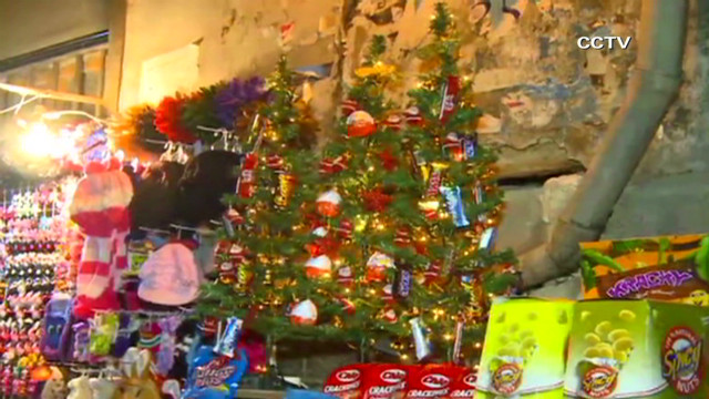 Christmas amid conflict in Syria