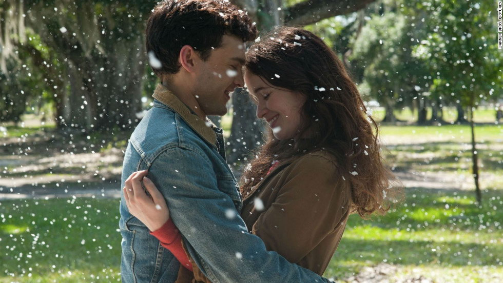 """Beautiful Creatures"" is based on Kami Garcia and Margaret Stohl's novel of the same name. Starring Alden Ehrenreich as 16-year-old mortal Ethan Wate and Alice Englert as Caster Lena Duchannes, the movie is due out on February 13. The two fall for each other despite their differences and a slew of supernatural obstacles."