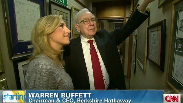 Inside Warren Buffett's office