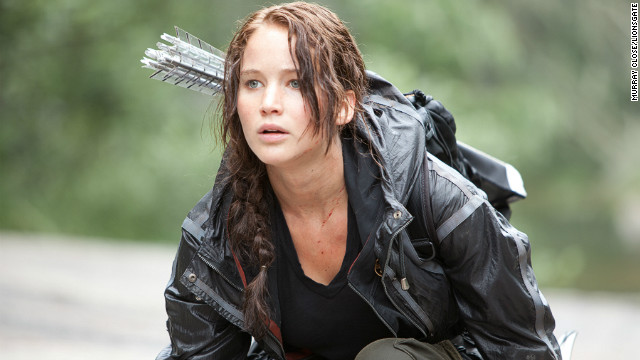 "Jennifer Lawrence stars as ""The Hunger Games"" heroine Katniss Everdeen, who is an excellent archer."