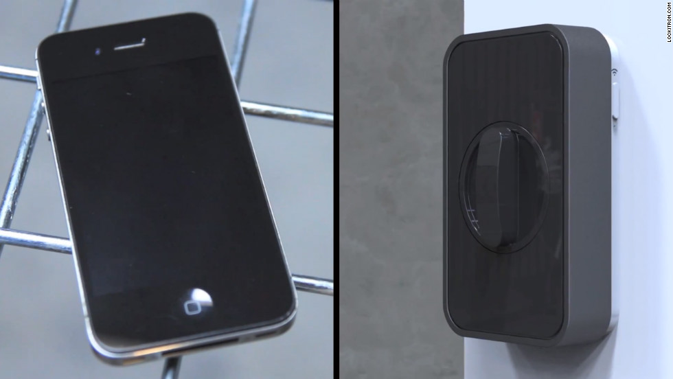 Lockitron allows you to lock and unlock your deadbolt using a smartphone.