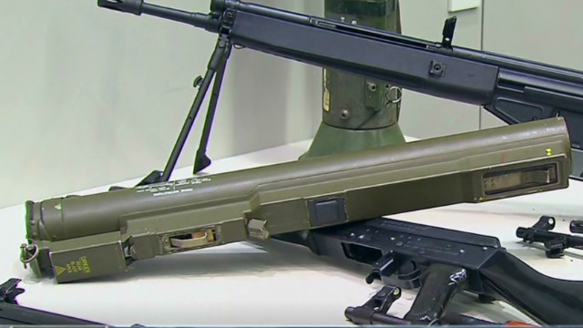 L.A. gun buyback yields rocket launchers