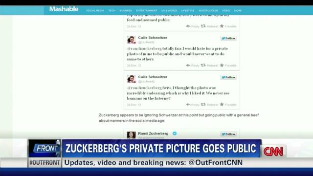 Randi Zuckerberg in photo sharing flap