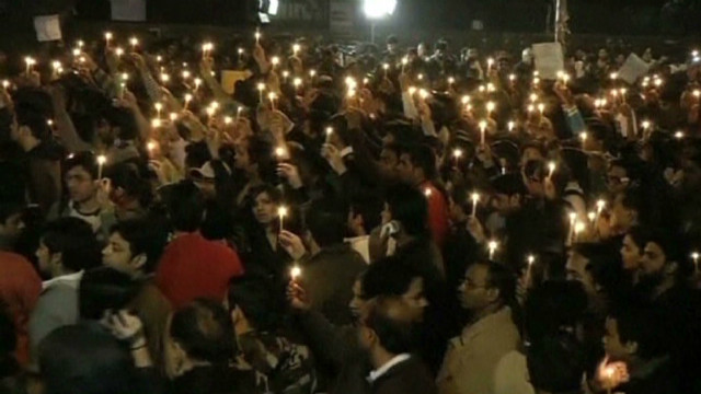 Indians protest after rape victim dies