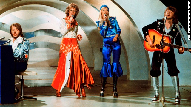 "Swedish pop group ABBA won the Eurovision Song Contest 1974 with ""Waterloo."""