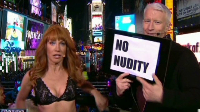 Cooper to Griffin: No nudity on NYE 2013