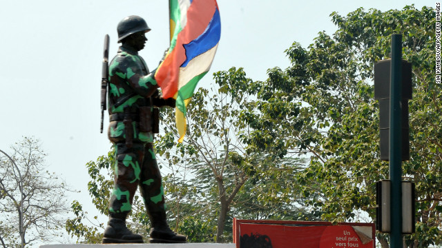 UN official: Central African Republic in crisis