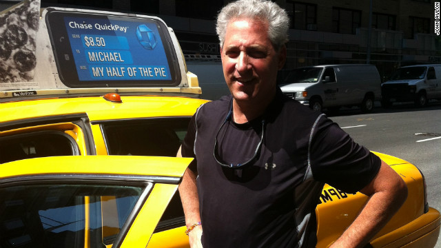 Jack Alvo, once a Wall Streeter, drives a New York City cab six days a week.