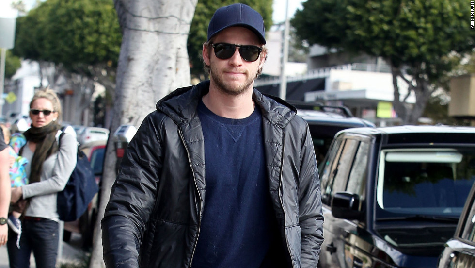 Liam Hemsworth heads out for lunch in Santa Monica, California on December 30.