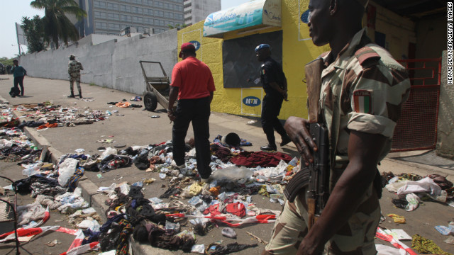 Ivory Coast stampede cause unclear