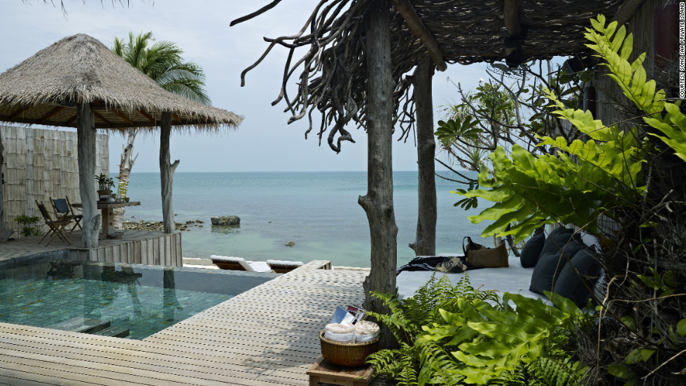 Song Saa Private Island offers 27 villas on two small islands in Cambodia's Koh Rong archipelago.