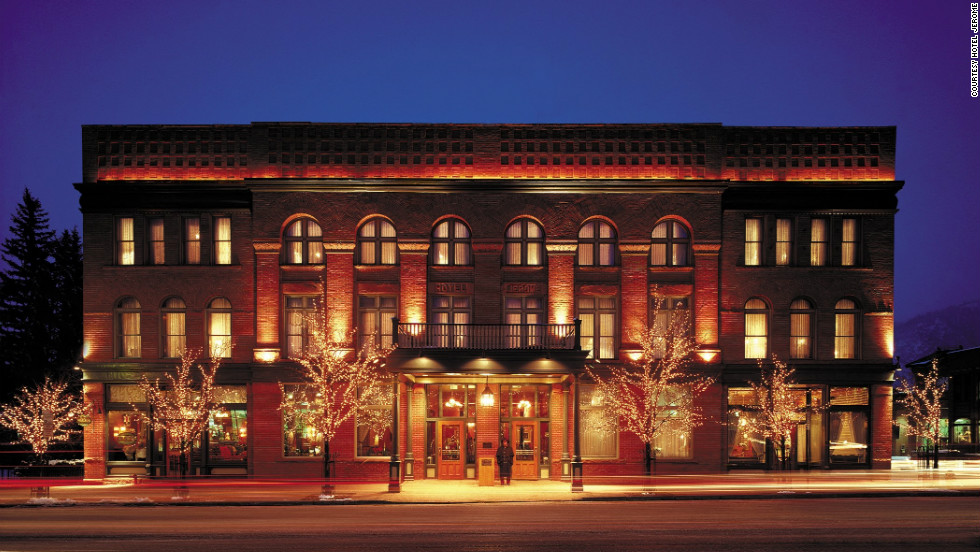 The 120-year-old Hotel Jerome in Aspen, Colorado, recently reopened after a massive renovation.