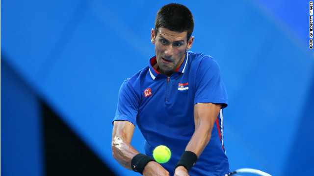 World number one Novak Djokovic won his singles clash in the Hopman Cup final but Spain took the title.