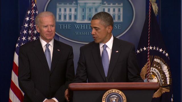 Obama thanks Biden for 'great work'
