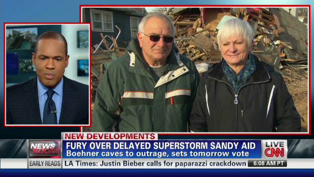 Fury over Delayed Superstorm Sandy Aid