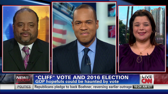 'Cliff' vote and 2016 election
