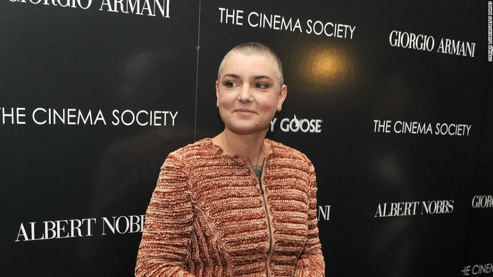 "Sinead O'Connor burst onto the scene in a black turtleneck and buzz cut in the ""Nothing Compares 2 U"" video. More than 20 years later, she's still rocking the look."