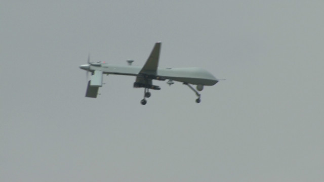 Officials: Drone killed Taliban commander
