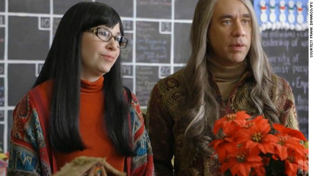 "Carrie Brownstein and Fred Armisen star in season three of ""Portlandia."""