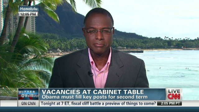 Vacancies at Cabinet table