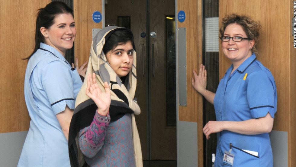 The teen was discharged from Queen Elizabeth Hospital in Birmingham, England, in February 2012.<br />