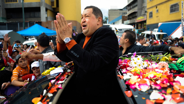 Chavez won't make his own inauguration