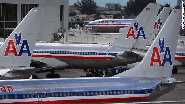 American Airlines estimates it flies about 275,000 passengers a day.