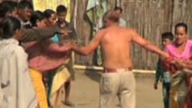 Villagers beat politician accused of rape