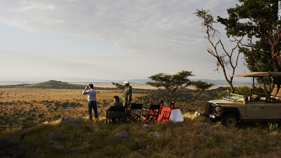 """Serengeti House, situated within the 350,000 acres of the Singita Grumeti Reserves in Tanzania, is so exclusive that it's barely mentioned on the Singita website. (<a href=""""http://www.singita.com/blog/tag/eating-at-singita-serengeti-house/"""" target=""""_blank"""">Check the blog</a>.)"""