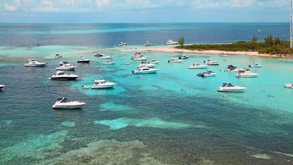 The waters around Bimini are renowned for sport fishing.