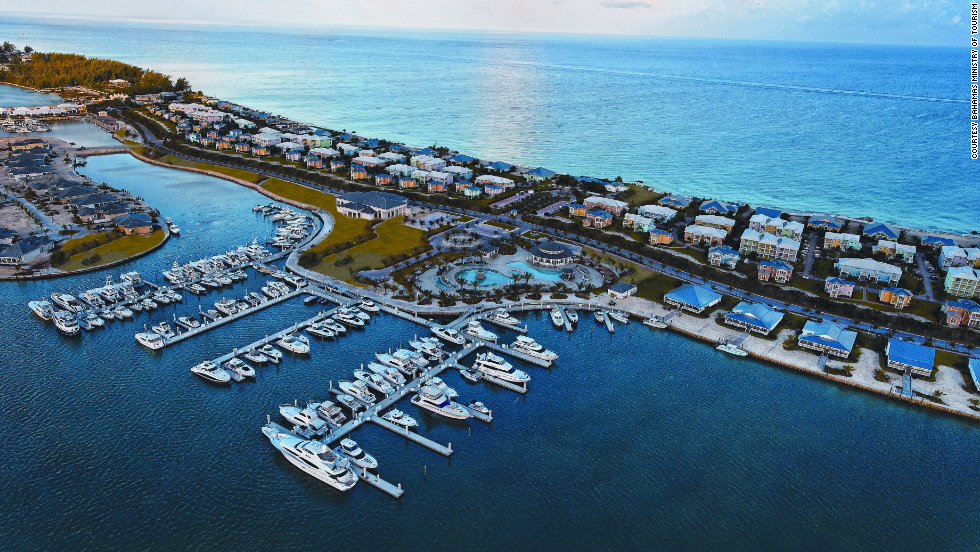Bimini Bay Resort features 374 rooms, suites and villas.