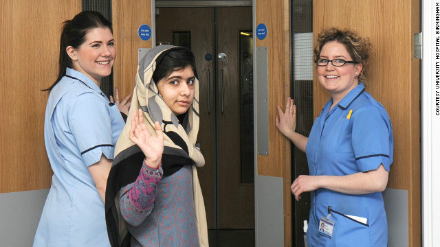 Malala discharged from UK hospital